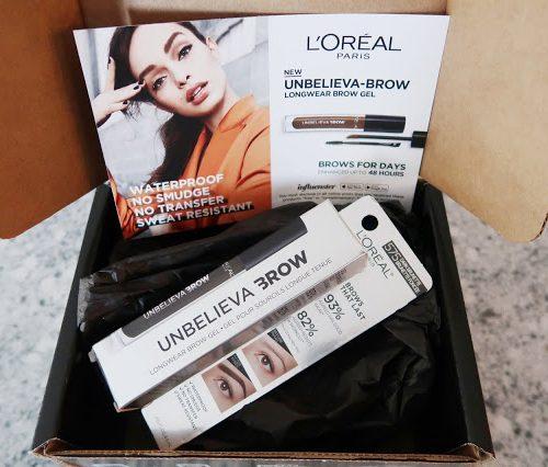 L'OREAL UNBELIEVA-BROW    INFLUENSTER VOXBOX REVIEW