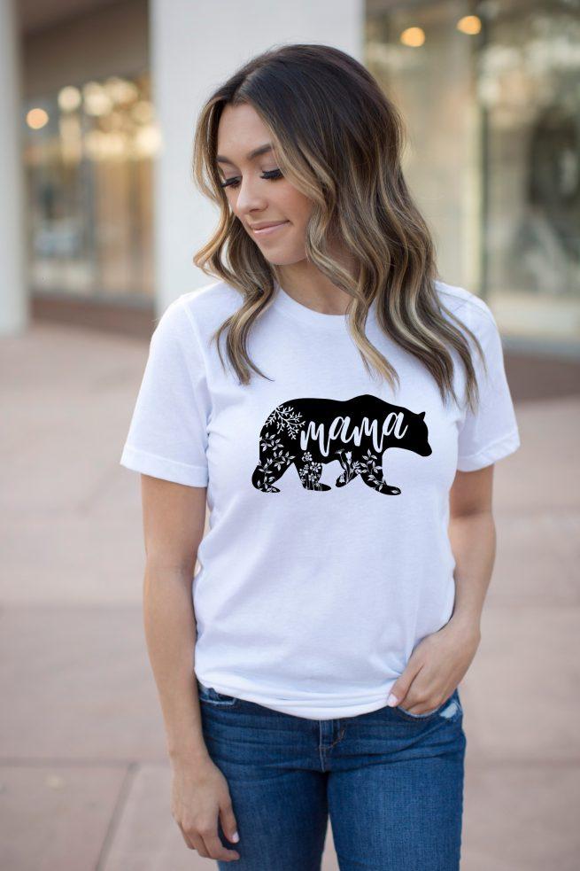 mama bear tee, mama bear, mama bear tshirts, mom tshirts, mama tshirts, mom outfits