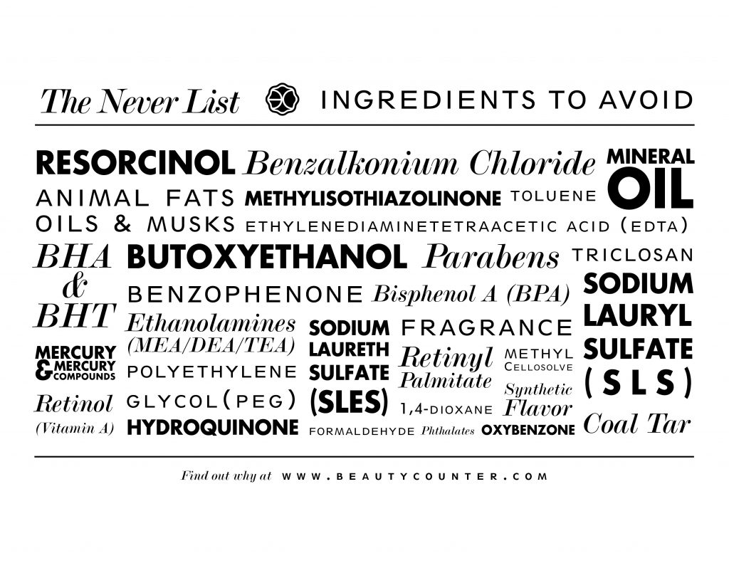 beautycounter never list, beauty counter never list, kaylee bilger, a mother by nature, nontoxic beauty, clean beauty, better beauty